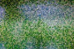 Retro parete del mosaico Immagine Stock Libera da Diritti