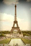 Retro Parijs Stock Afbeeldingen
