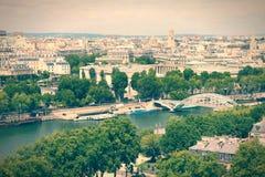 Retro Paris Royalty Free Stock Images
