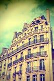 Retro- Paris Lizenzfreie Stockbilder
