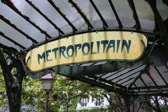 Retro Paris Stock Image