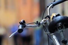 Retro particolare della bici Fotografia Stock