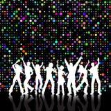 Retro party Stock Image