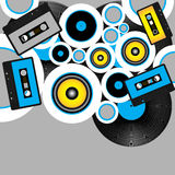 Retro Party Background Royalty Free Stock Photography