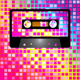 Retro Party Background Royalty Free Stock Photo