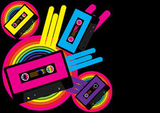Retro Party Background stock illustration