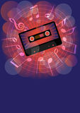 Retro Party Background vector illustration
