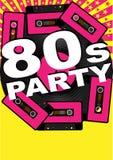 Retro- Party-Hintergrund Stockfotografie