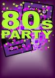 Retro- Party-Hintergrund Stockbilder