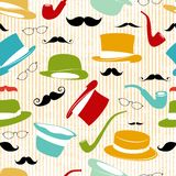 Retro Party seamless background Royalty Free Stock Photo
