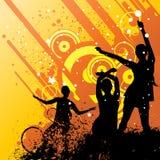 Retro party vector royalty free illustration