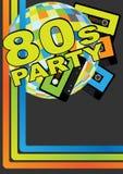 Retro Partyjny Tło Zdjęcie Stock