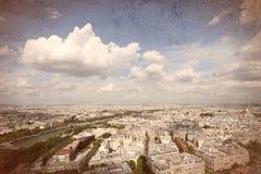 Retro Paryż Fotografia Royalty Free