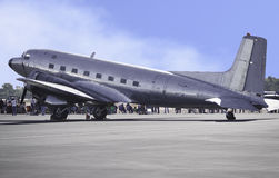Retro Passenger Plane Stock Image