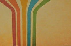 Retro pastel colors with grunge background. Vintage motive. Royalty Free Stock Photo