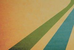 Retro pastel colors with grunge background. Vintage motive. Stock Photo