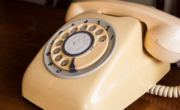 Retro pastel telephone Royalty Free Stock Photos