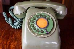 Retro pastel telephone Royalty Free Stock Photo