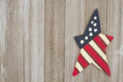 Retro patriotic USA background with American star Royalty Free Stock Photos