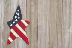 Retro patriotisk USA bakgrund Arkivfoton