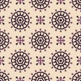 Retro patroon Royalty-vrije Stock Afbeelding