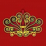 Retro Patroon van de kleur Royalty-vrije Stock Afbeelding