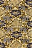 Retro patroon van de tapijtwerkstof Stock Afbeelding