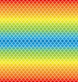 Retro patroon van geometrische vormen stock illustratie