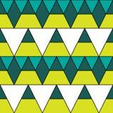 Retro patroon van geometrische vormen Kleurrijke mozaïekachtergrond De geometrische hipster retro achtergrond, plaatst uw tekst o stock illustratie