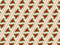 Retro patroon van Kerstmis Royalty-vrije Stock Foto's