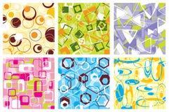 Retro patroon, vector Royalty-vrije Stock Afbeeldingen