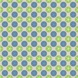 Retro patroonachtergrond Stock Afbeeldingen