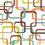 Retro patroonachtergrond met vierkanten Royalty-vrije Stock Foto
