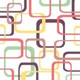 Retro patroonachtergrond met vierkanten Royalty-vrije Stock Afbeelding