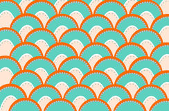 Retro pattern. Colorful abstract retro patterns geometric design Royalty Free Stock Photos