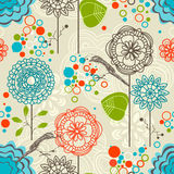 Retro pattern Stock Photo