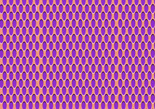Retro pattern background. Orange and purple retro elliptical pattern background royalty free illustration
