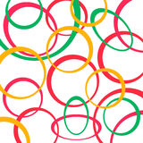 Retro pattern background with circles.  Royalty Free Stock Photos