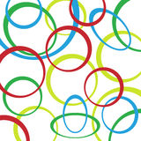 Retro pattern background with circles Royalty Free Stock Photo
