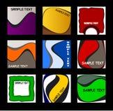 Retro Pattern Background Selection Stock Photos
