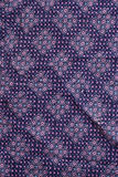 Retro pattern cotton fabric. Detail Royalty Free Stock Image