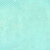 Retro pattern with dots and paper texture. Retro background in shabby chic style with dots and paper texture of blue color stock photo