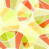 Retro pattern with elements print Stock Photo