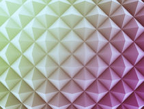 Retro pattern of geometric shapes Stock Photo