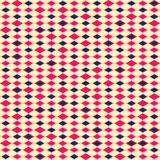 Retro pattern of geometric shapes. Royalty Free Stock Image