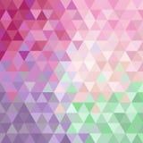 Retro pattern of geometric shapes. Colorful mosaic Stock Photos