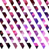 Retro pattern of geometric shapes. Colorful mosaic banner. Geome Royalty Free Stock Images