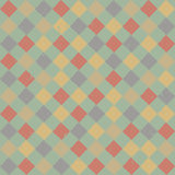 Retro pattern of geometric shapes. Colorful mosaic Royalty Free Stock Images