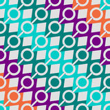 Retro pattern of geometric shapes. Colorful mosaic banner. hipster background with place for your text. triangle royalty free stock photography