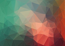 Retro pattern of geometric shapes Royalty Free Stock Photography